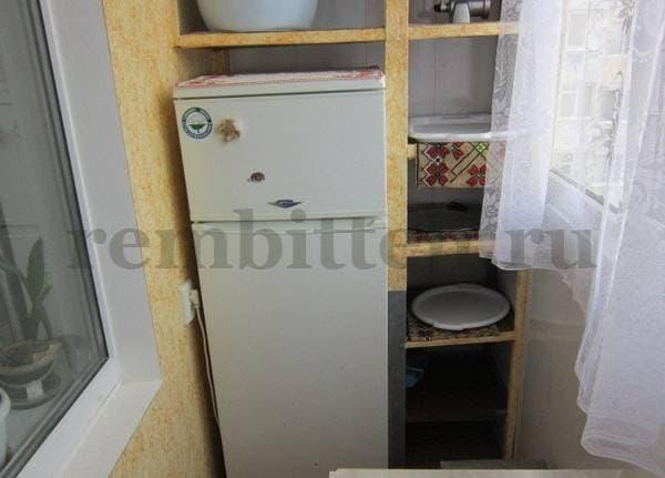 Можно ли ставить холодильник на балконе или лоджии