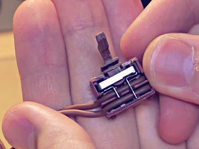 Механизм кнопки электроподжига
