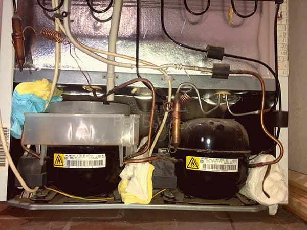 Холодильник с двумя компрессорами