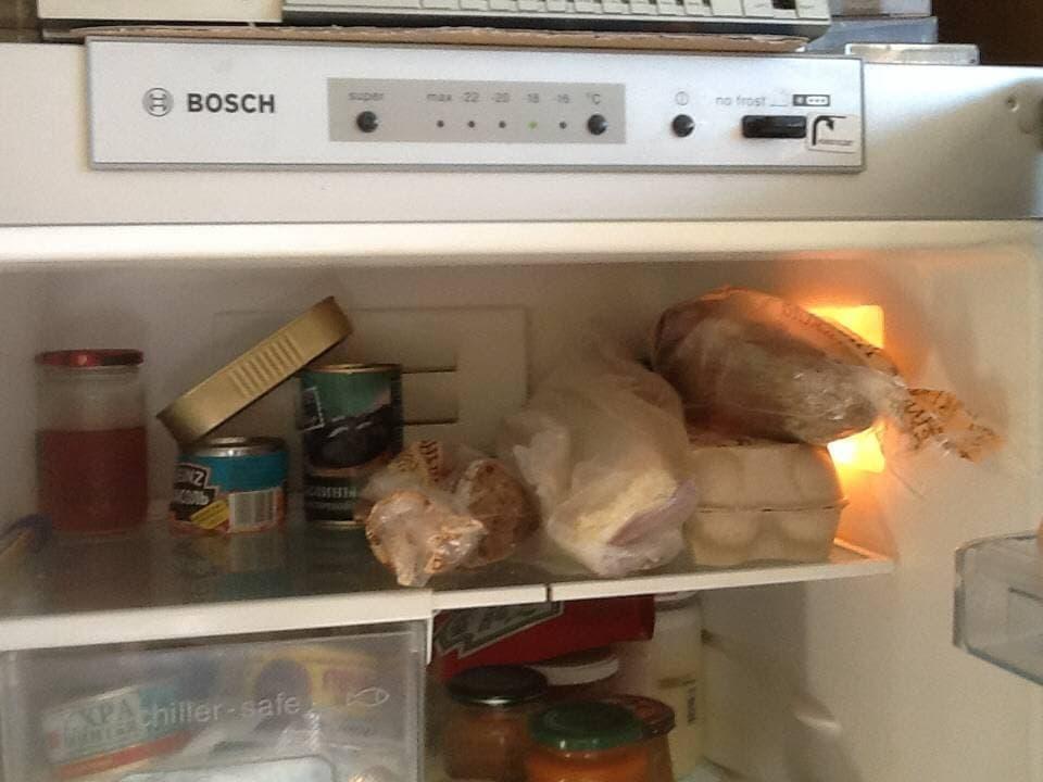 В холодильнике повышена температура