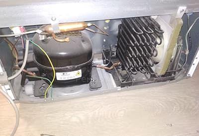 Замена мотора в холодильнике