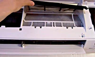 Намерзает лед во внутреннем блоке кондиционера