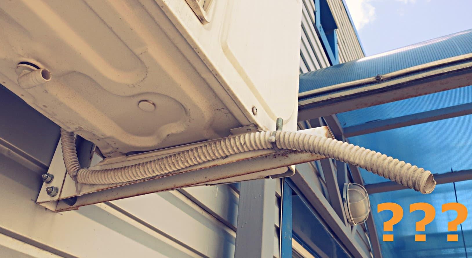Не капает вода из трубки домашнего кондиционера или сплит-системы