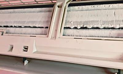 Намерзает лёд на испарителе кондиционера