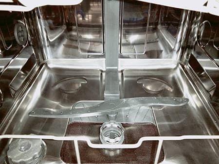Не крутятся разбрызгиватели в посудомойке