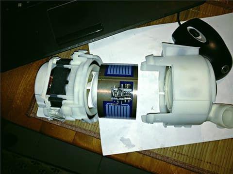 Проточный ТЭН в сборе с циркуляционным насосом в посудомоечной машине Bosch
