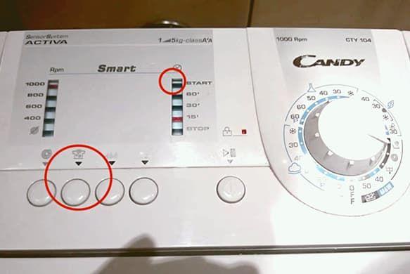 Отображение ошибок в Candy Smart без экрана