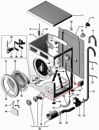 Из-за металлической пластины для амортизатора в машине Bosch не получается подобраться к помпе через дно
