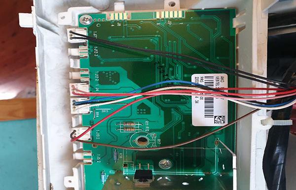 Ремонт модуля управления стиральной машины Вестел