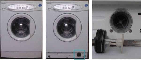 слейте воду при помощи дополнительного сливного фильтра