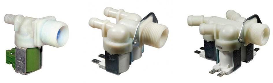 Заливные клапаны стиральной машины: одинарный, двойной и тройной