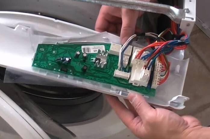 Замена электронного модуля управления стиральной машины
