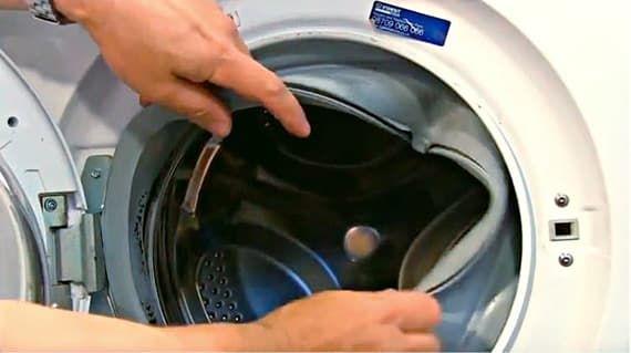 Меняем уплотнитель люка стиральной машины
