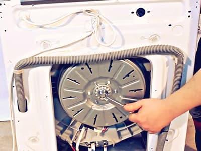 Замена подшипников в стиральной машине с прямым приводом