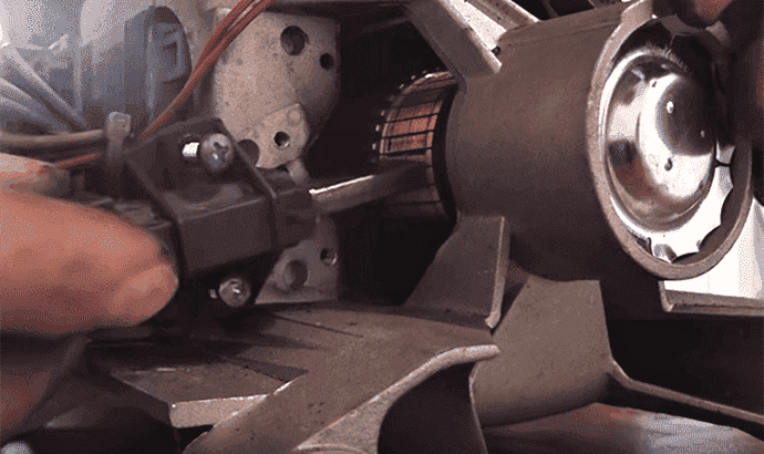 Замена щеток двигателя стиральной машины