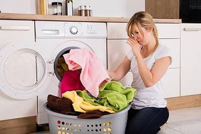 Запах от вещей после стирки в стиральной машине