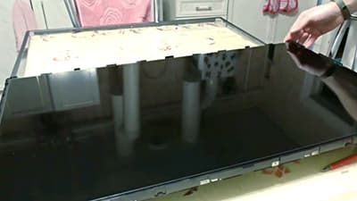 Ставим матрицу жк-телевизора