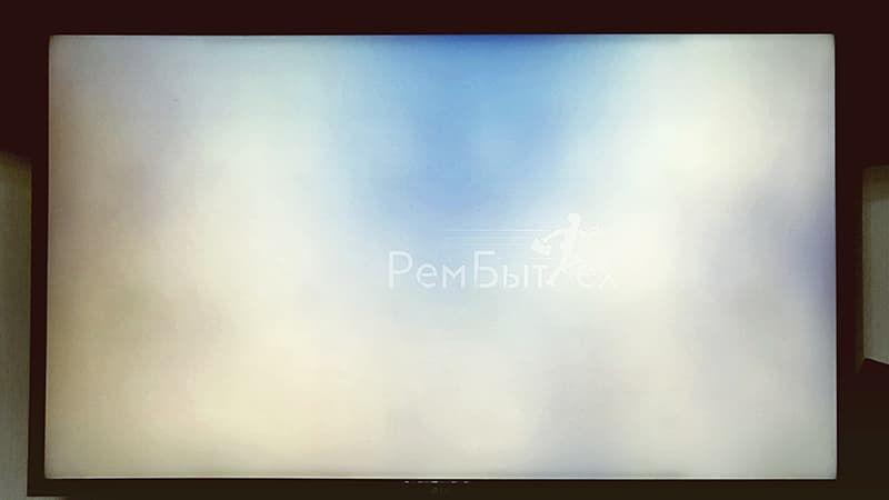 Темные пятна на экране