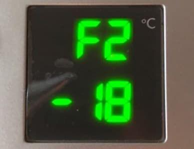 Ошибка F2 в холодильнике Атлант