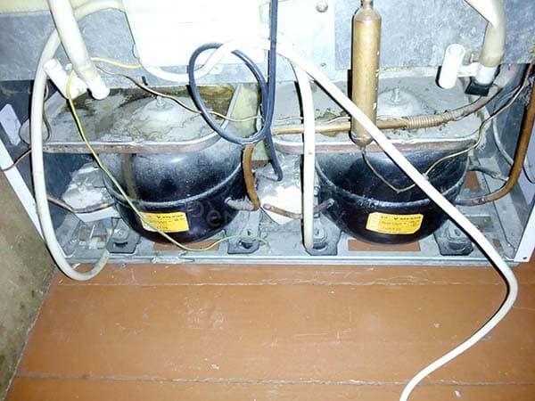 Холодильник Стинол с двумя компрессорами