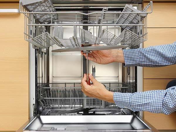 Замена распылителя в посудомойке Бош