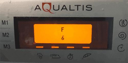 F06 на стиральной машине