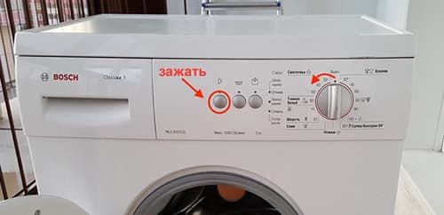 Как сбросить ошибку на стиральной машине Bosch Classixx