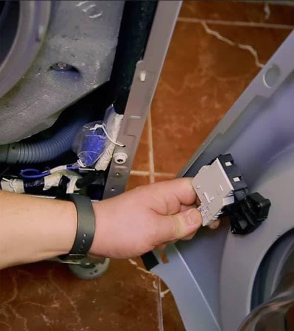 Замена УБЛ в стиральной машине БОШ