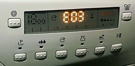 Ошибка Е03 в стиральной машине Канди