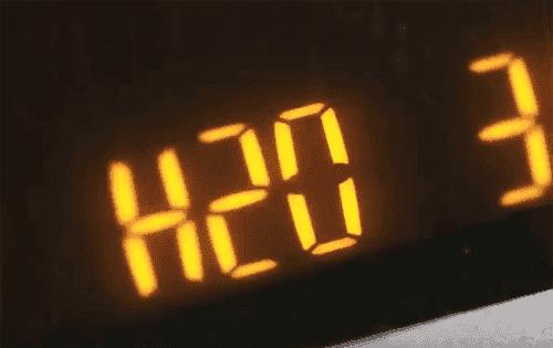 Ошибка H20 в стиральной машине Indesit с экраном