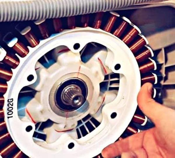 Замена двигателя стиральной машины LG с прямым приводом