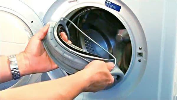 Замена манжеты в стиральной машине LG