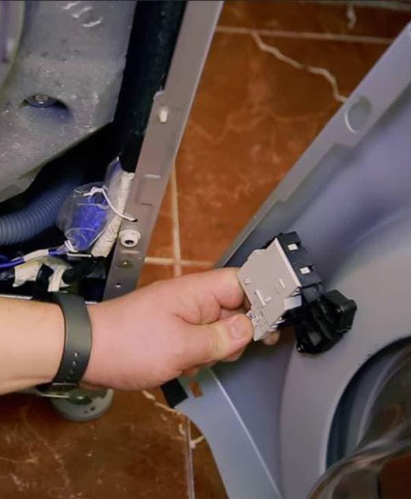 Замена УБЛ в стиральной машине LG